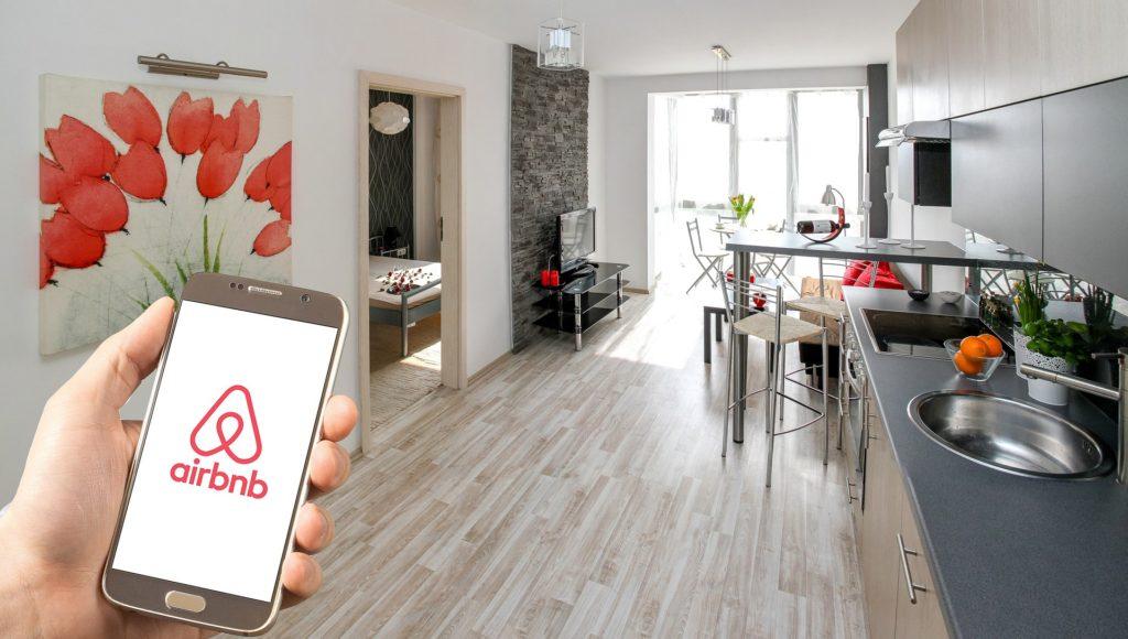 Ubytování skrze Airbnb