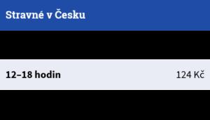 Stravné v Česku